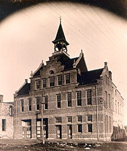 Pipestone City Hall c. 1897 Courtesy of Pipestone County Historical Society