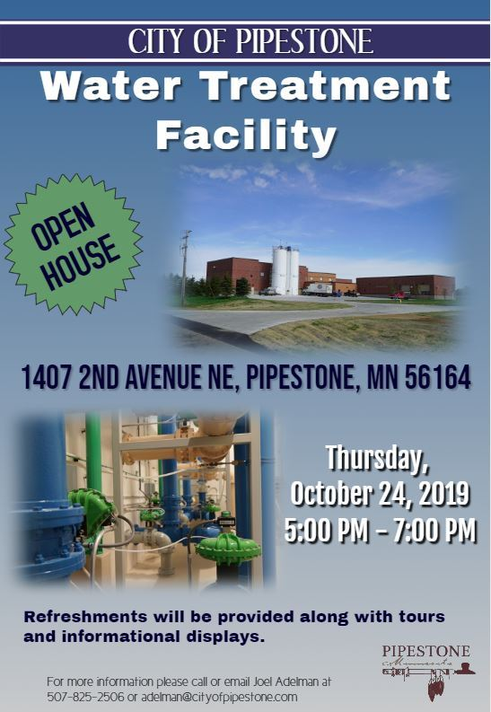 Water Treatment Facility Open House