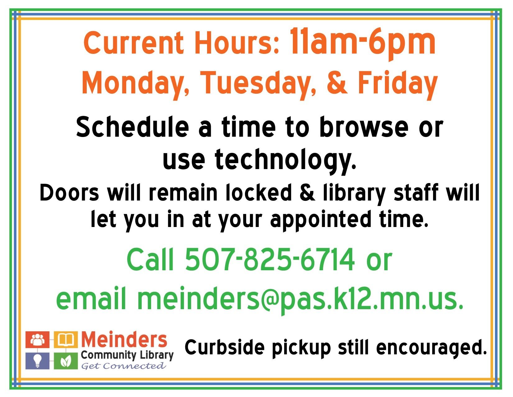 Meinders Current Hours (002)