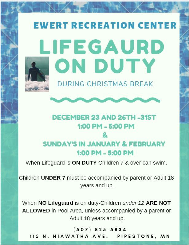 Lifeguard On Duty-Christmas Break